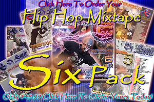 Hip Hop Mixtape six Pack Savings Offer